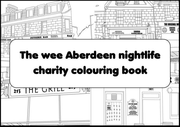 Aberdeen Colouring Book