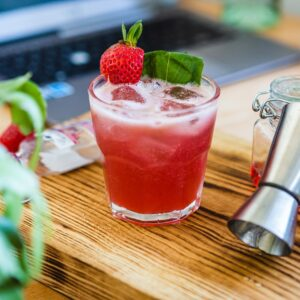 The Strawberry Basil Smash