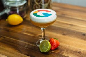 Branded Cocktail Garnish